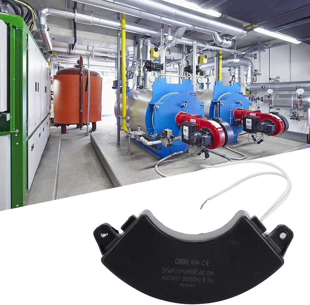 Condensateur sans Brosse CBB61 450V 36uf de Condensateur de G/én/érateur dEssence de Pi/èces deG/én/érateur dEssence Double 50 60Hz
