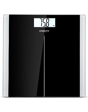 ETEKCITY EB9380H Báscula de Baño Digital de Alta Medición Precisa 5kg-180kg, Balanza Digital