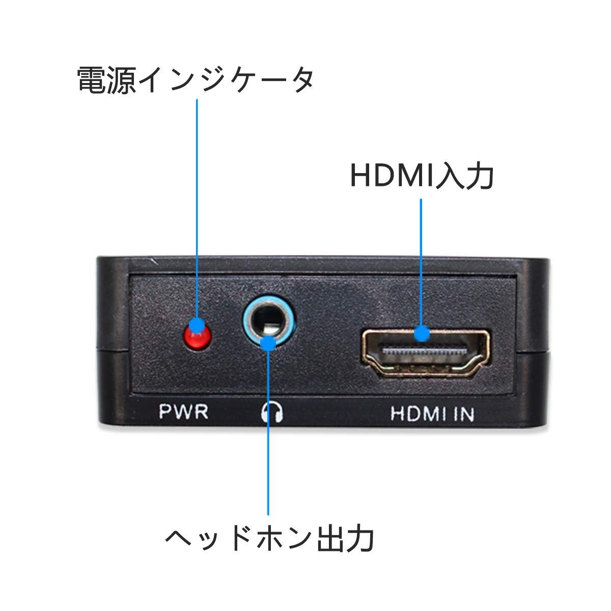 Optical Digital Coaxial Stereo Audio Extractor Converter Splitter HDMI to HDMI