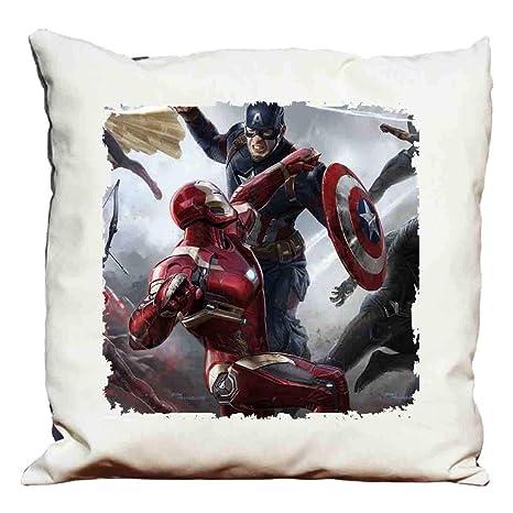 cojín Capitán América - Civil War: Amazon.es: Hogar