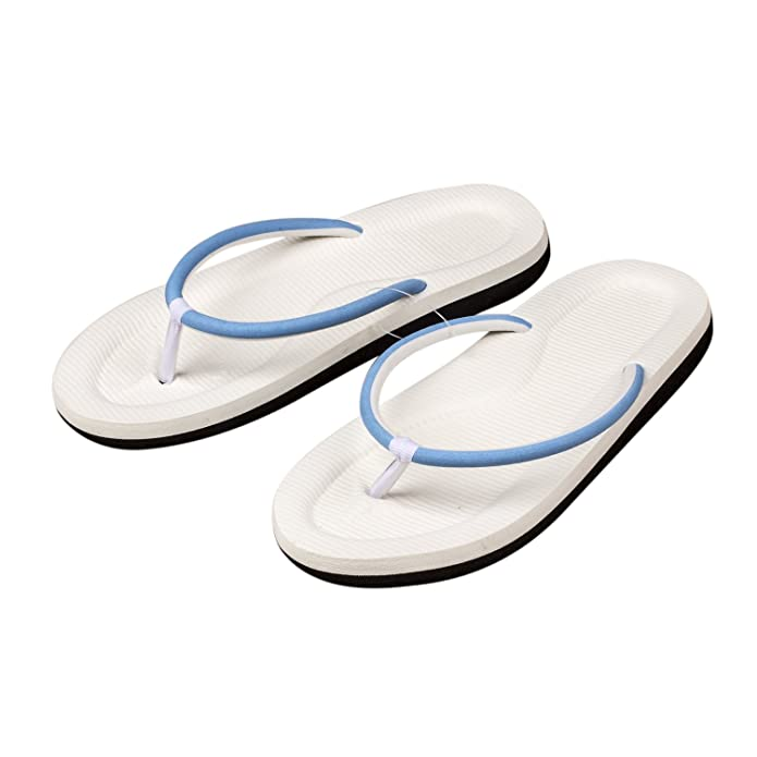 SODIAL(R)Zapatillas Zapatos Chancletas sin espalda dedo del pie abierto de espuma de mujer 7 Pares 6DhFC9hY