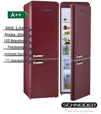 Schneider SL300 CB a + + Retro Diseño nevera y congelador ...
