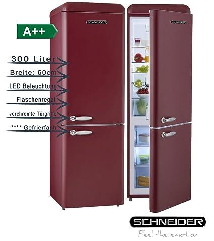 Schneider SL300 R CB a + + Retro Diseño nevera y congelador ...
