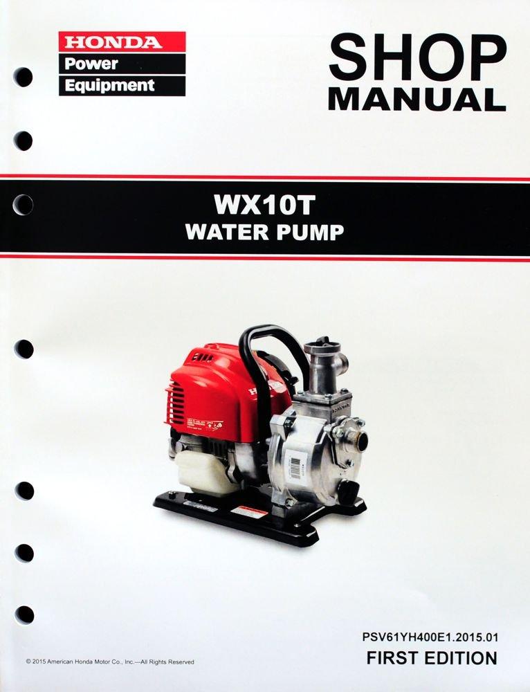 Honda WX10 T Pump Service Repair Shop Manual