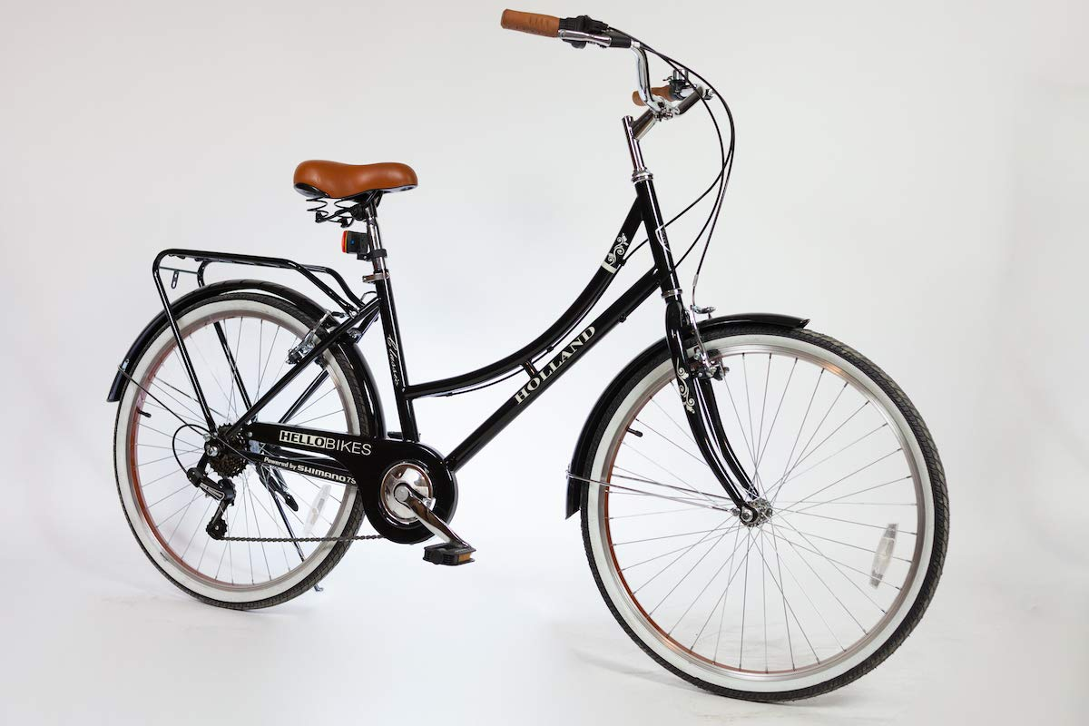 """Modell Holland 26/"""" Damen City Fahrrad mit Shimano 7-Gang Kettenschaltung"""