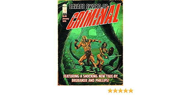 Criminal Savage Ed Magazine Size Var Mr IMAGE COMICS