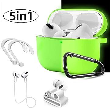 Amazon Com Airpods Pro Case Wqinide Airpods Pro Accessories Set