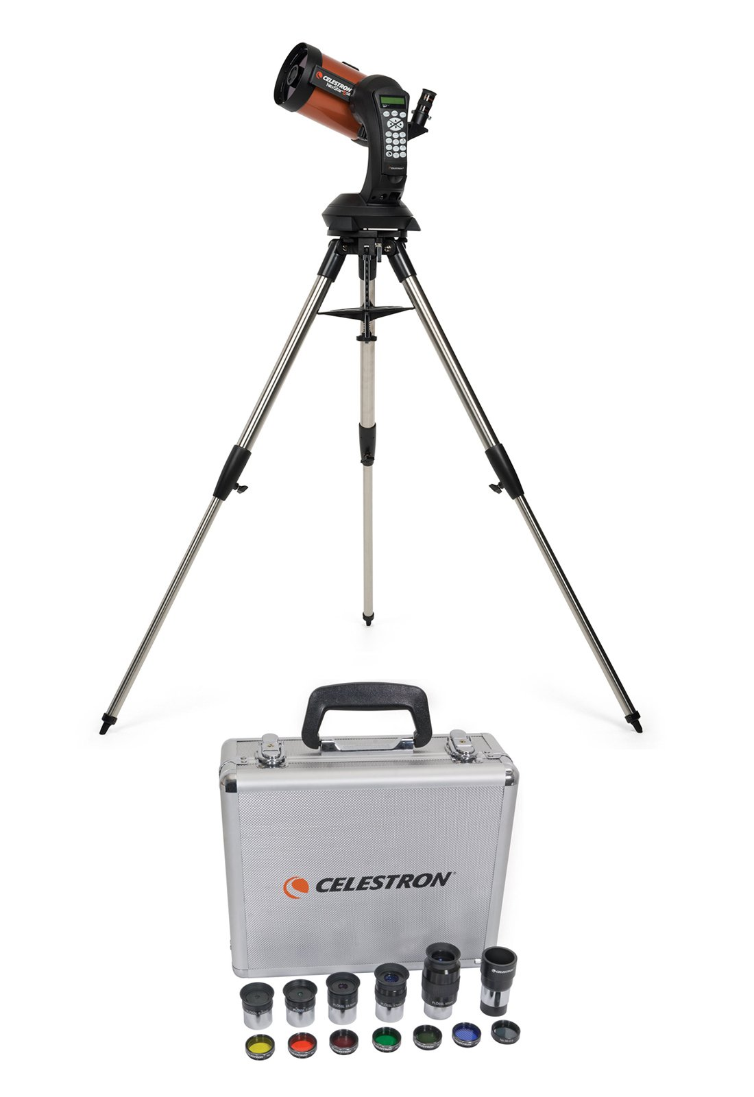 Celestron 5SE Computerized Telescope + Eyepiece/Filter Accessory Kit (1.25 inch)