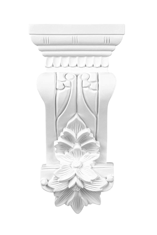 Console Vorgrundiertes Antichoc Polyur/éthane Console Murale Baroque D/écoration Int/érieur Unit/é Centrale Hexim Parfait 123 X 80 mm C8010