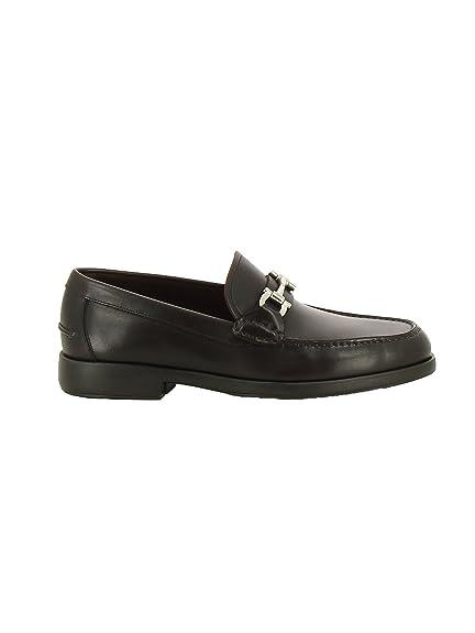 Salvatore Ferragamo - Mocasines para Hombre marrón marrón IT - Marke Größe, Color marrón, Talla 39 IT - Marke Größe 6: Amazon.es: Zapatos y complementos