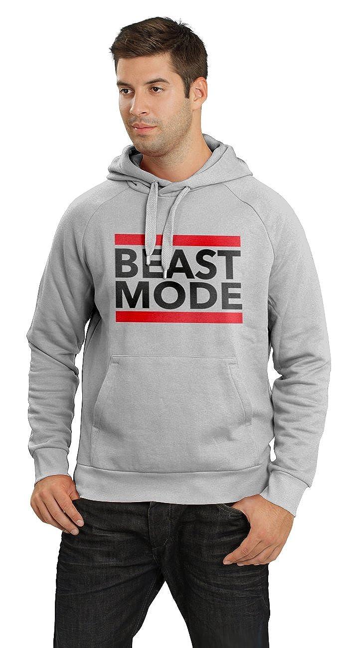 BLOGGER CLLCTION - Sudadera de fútbol americano. Beast Mode. Sudadera con capucha. Famoso Diseño de la NFL de Marshawn Lynch: Amazon.es: Ropa y accesorios