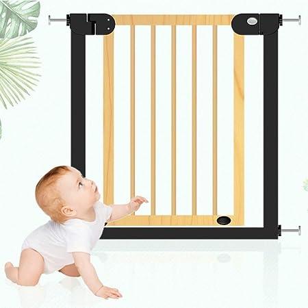 Huo Barrera de Seguridad para Bebés Barandilla para Bebés Puerta de Escalera Niño Cerca de Cocina Puerta Aislada (Size : 90-97cm): Amazon.es: Hogar