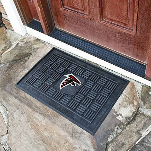 Team Fan Gear Fanmats Atlanta Falcons Medallion Door Mat Size=19