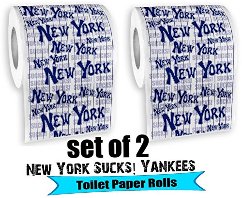 Double Header - 2 Pack of New York Sucks Toilet Paper