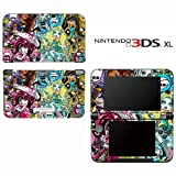 Monster High Ghoul Skull Decorative Video Game Decal Cover Skin Protector for Nintendo 3DS XL