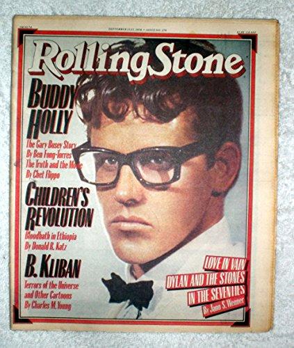Gary Busey as Buddy Holly - Rolling Stone Magazine - #274 - September 21, 1978 - No Address Label!