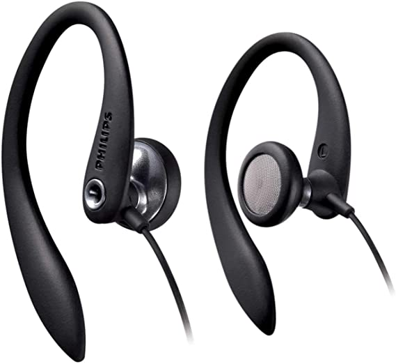 Philips Headphones SHS3300BK 27mm Drivers/Open-Back Earhook 1