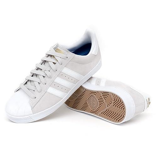 adidas superstar, te avanzata scarpe grigio / bianco / oro ftw: