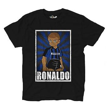 KiarenzaFD T-Shirt Football Ronaldo Inter Legend Vintage T-Shirt Holly and  Benji Parody 751b572ae