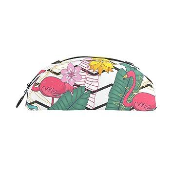 BONIPE - Estuche para lápices, diseño de flores, diseño de ondas, para bandejas de oficina: Amazon.es: Oficina y papelería