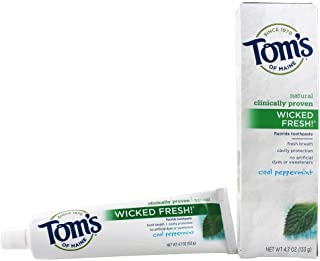 product image for Tom's of Maine Natural Wicked Fresh Fluoride Toothpaste Cool Peppermint 4.70 oz