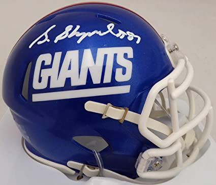 0afecac99c2e5 Amazon.com: Sterling Shepard Autographed New York Giants Speed Mini ...