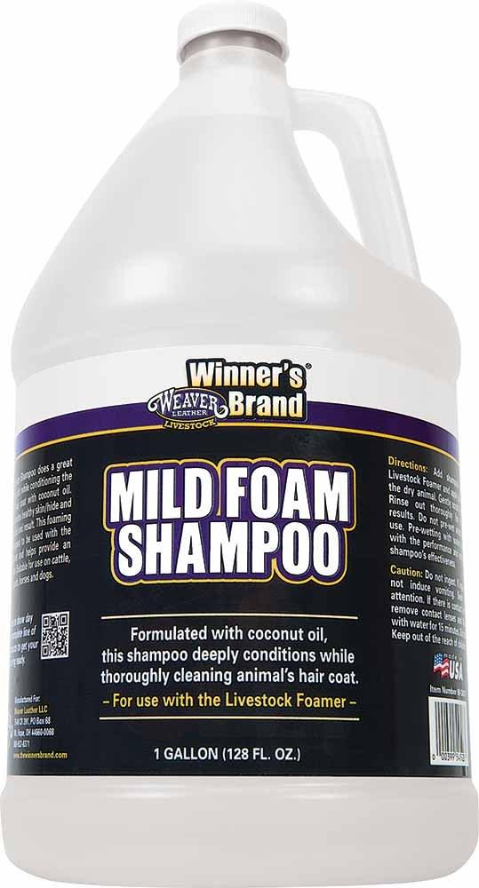 Weaver Leather Livestock Mild Foam Shampoo