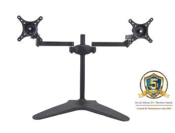 Allcam MMS05 Soporte de Mesa para Pantalla Plana Atornillado Negro - Soporte para televisor (Atornillado