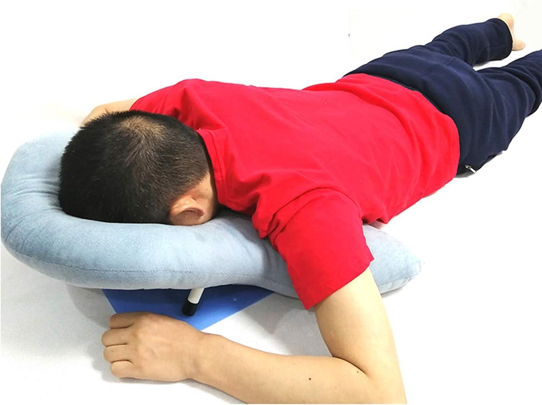 Almohada Para La Cama Boca Abajo, Cómoda Y Ergonómica Soporte Para La Cabeza, El Cuello Y Los Hombros Almohada De Descanso Para Pacientes Con Desprendimiento De Retina Durante La Recuperación Cojín