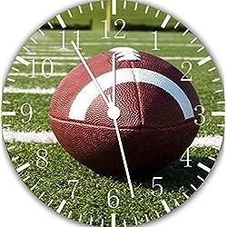 Football Borderless Frameless Wall Clock E79 Nice For Decor Or Gifts