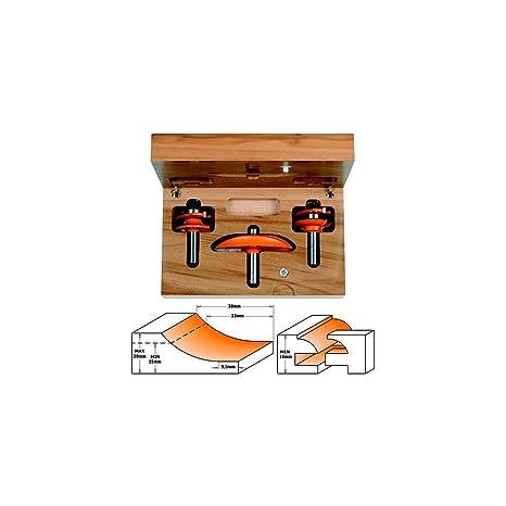 CMT Orange Tools 900.516.11 - Estuche 3 fresas para cocinas ...