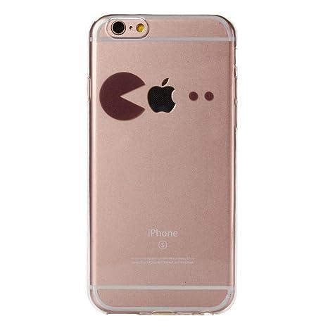 Carcasa Para iPhone 6 / 6S Case , YIGA Sencillo Negro Transparente 3D TPU Piel Gel Cubierta De Silicona Suave Funda Tapa Para Apple iPhone 6 / iPhone ...