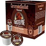 Twisted Pine Coffee Carameled Sea Salt Single Serve Cups 100 count offers