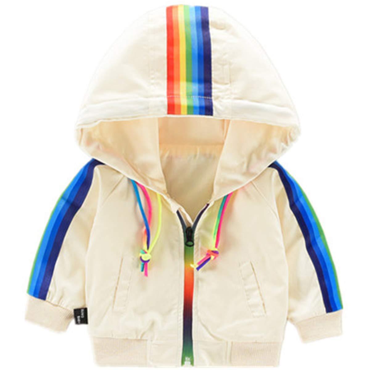 HAOKTY Baby Jungen Winter Warme Jacke Outwear Sweatjacke mit Kapuze