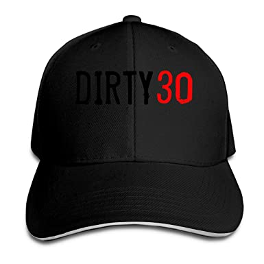 Baseball Cap Adult 30th Birthday Sandwich Dad Casquette Hat Black