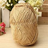 KINGSO 4pcs Natural Smooth Soft Woolen Cotton Knitting Yarn 1.8 oz