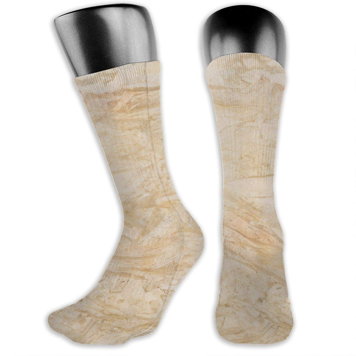 OLGCZM Marble Texture Men Womens Thin High Ankle Casual Socks Fit Outdoor Hiking Trail