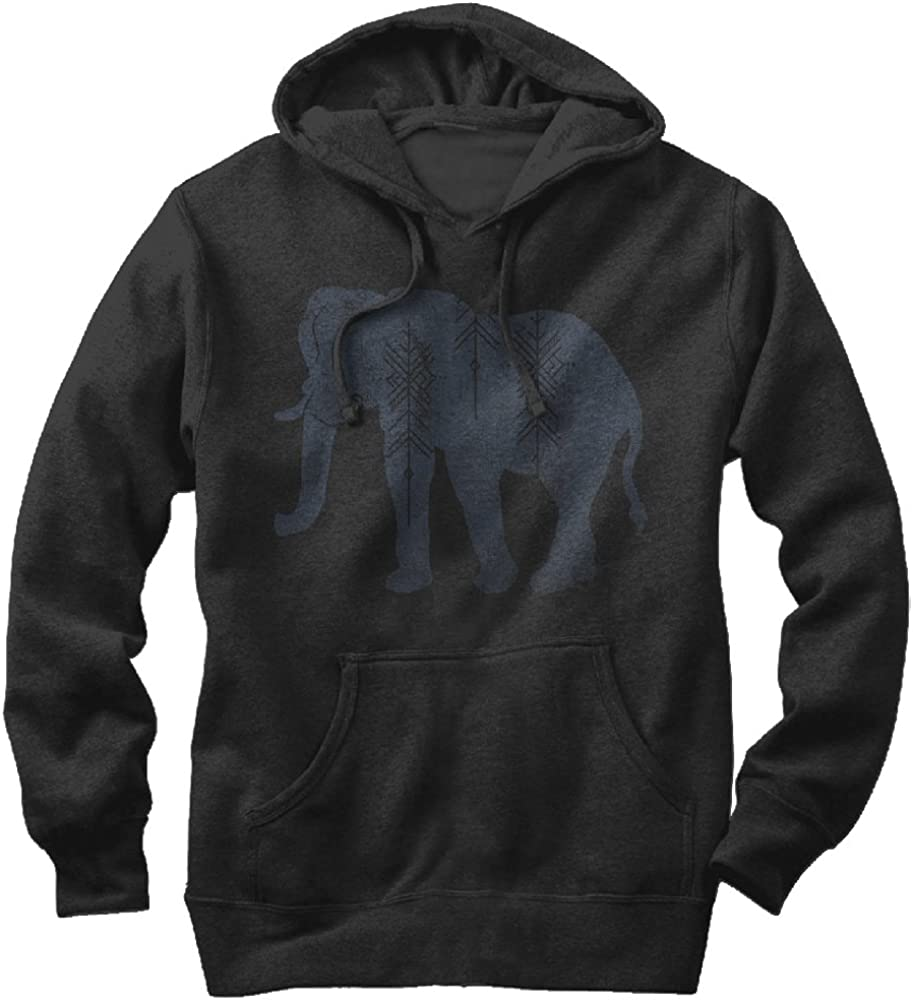 Womens Long Sleeve Crop Top Hoodies Elephant Pattern Cat Ear Lumbar Hoodie Pullover Sweater