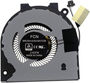Rangale CPU Cooling Fan Replacement for Dell Inspiron 15 5580 5581 5585 14-5480 5481 5482 5488 P93G Series Laptop 0G0D3G G0D3G DFS5K121142620