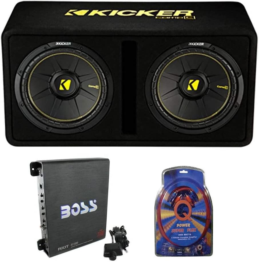 Kicker Audio Subwoofer 44DCWC122
