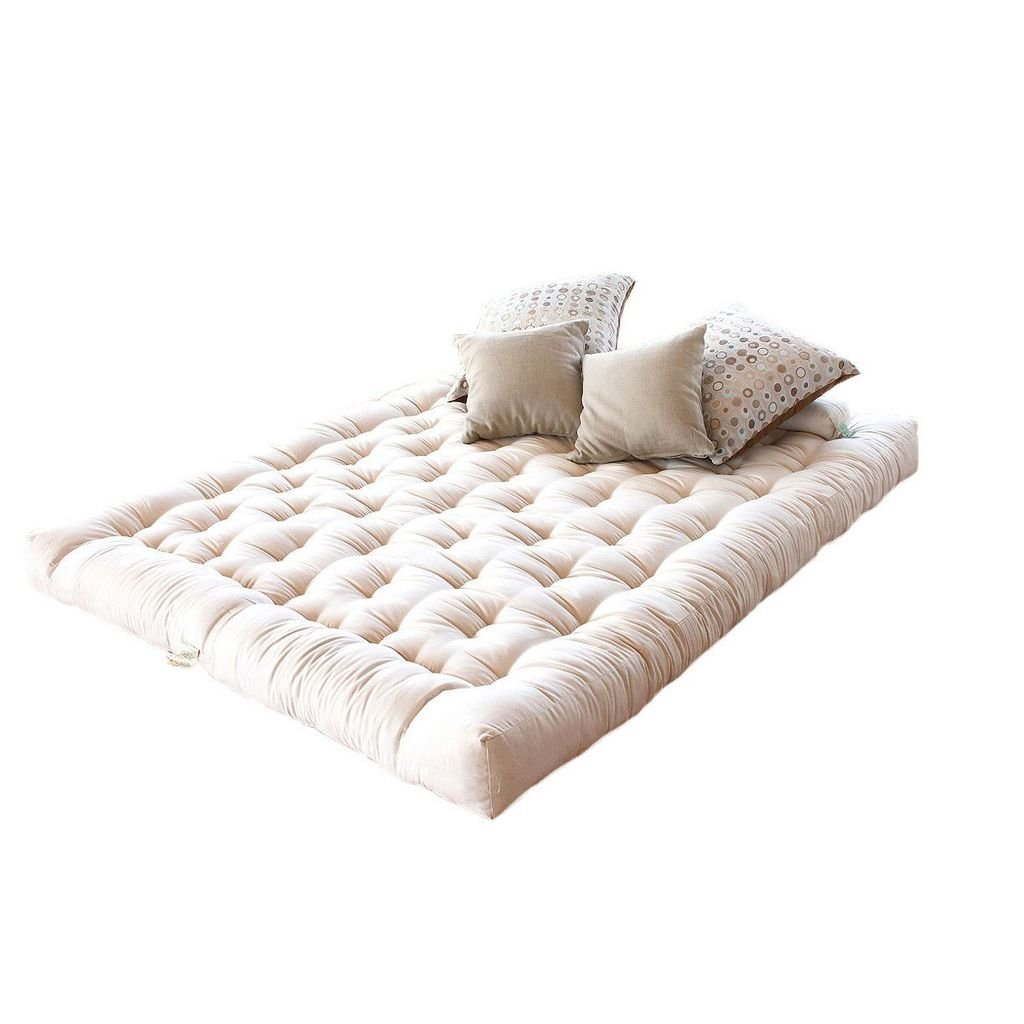 100% Organic Cotton and Wool with 3'' Latex Core Dreamton Mattress