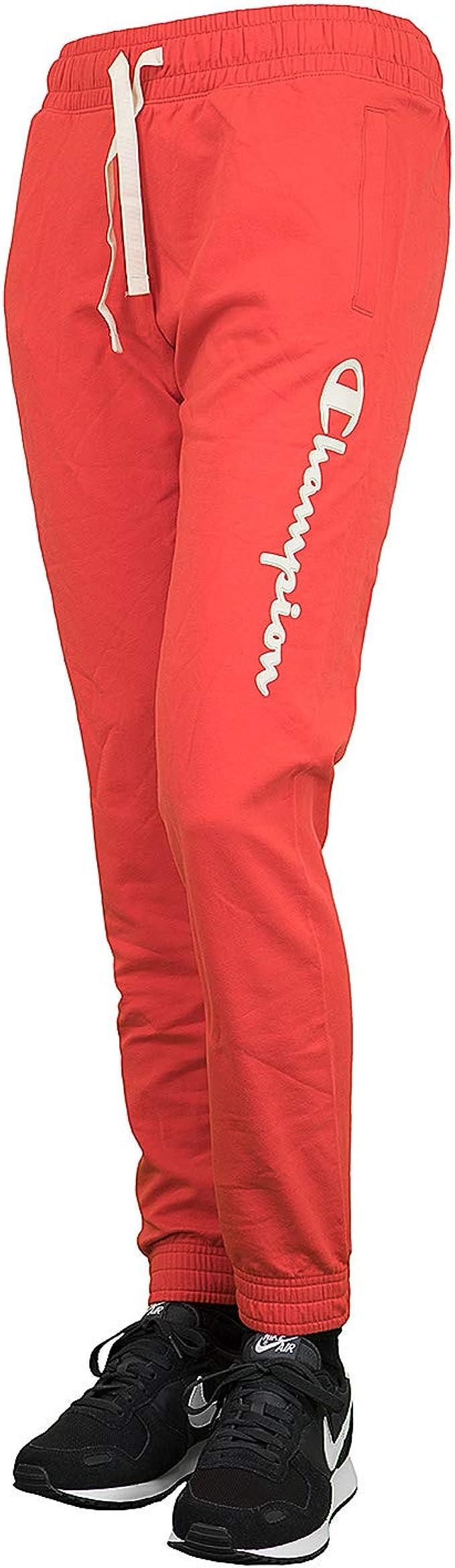 Champion Elastic Cuff - Pantalones de chándal para Mujer: Amazon ...