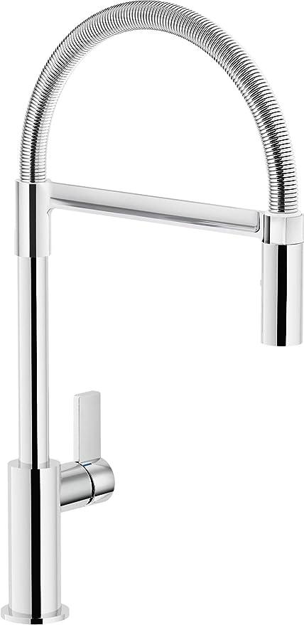 Nobili rubinetterie FL96300CR Miscelatore da Cucina e doccetta ...