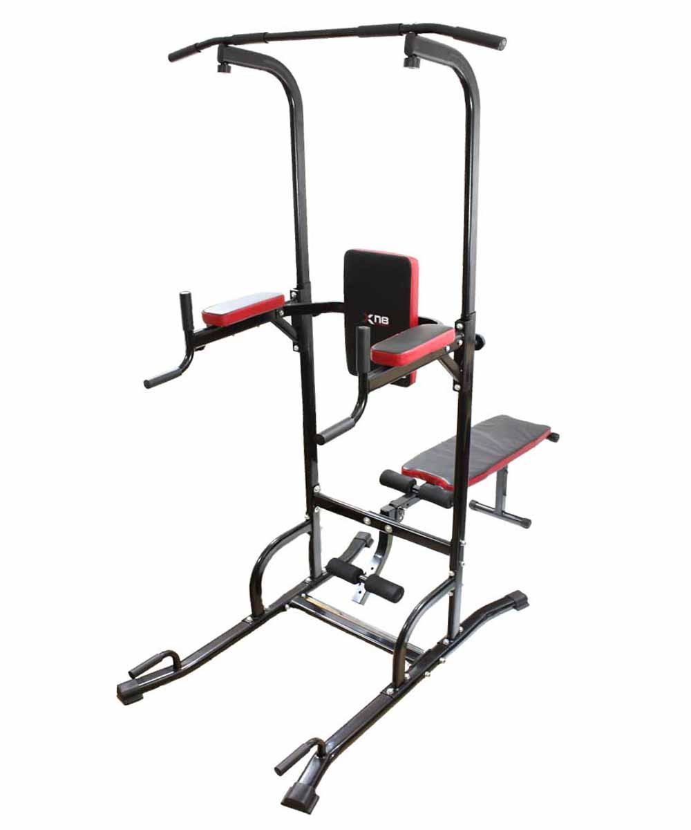 Power Tower Dip Station Chin Up Bar