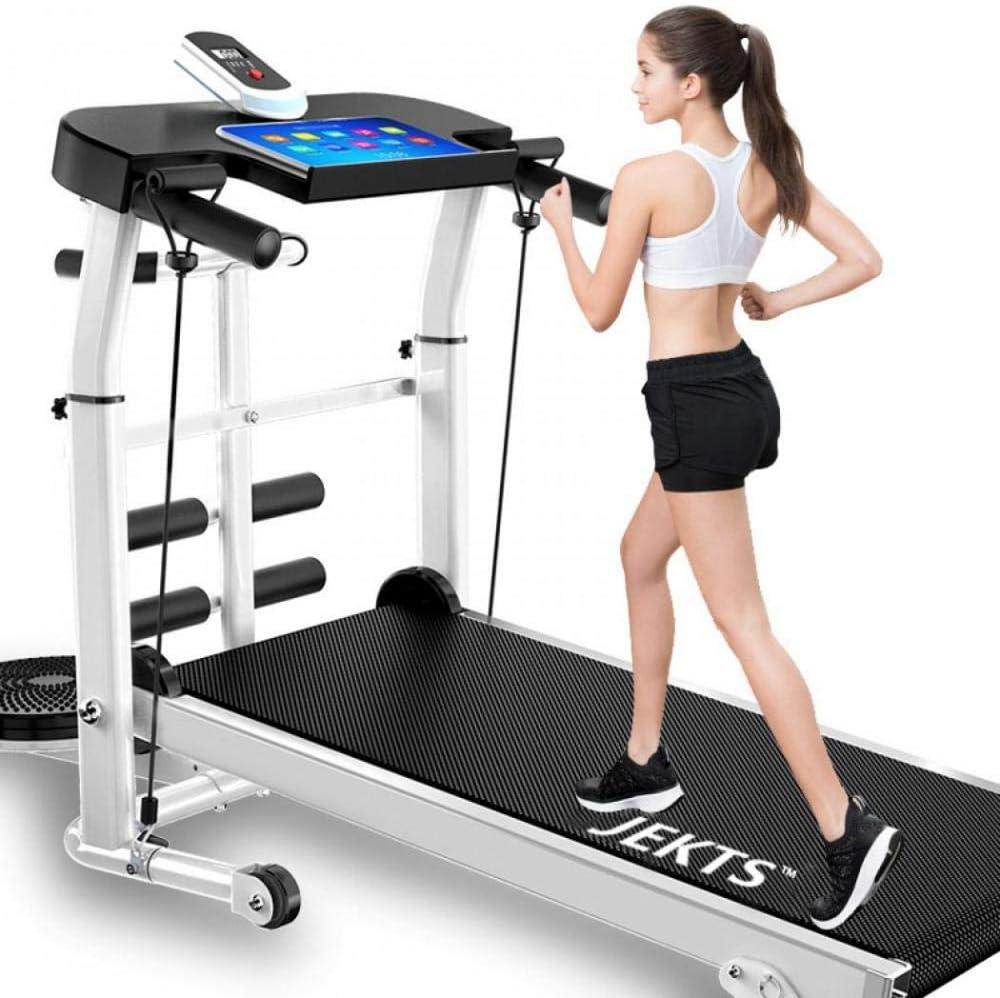 professionell SilverTreeFaltbares Laufband Fitnessger/ät kleines Trainingsger/ät f/ür Heimfunktion