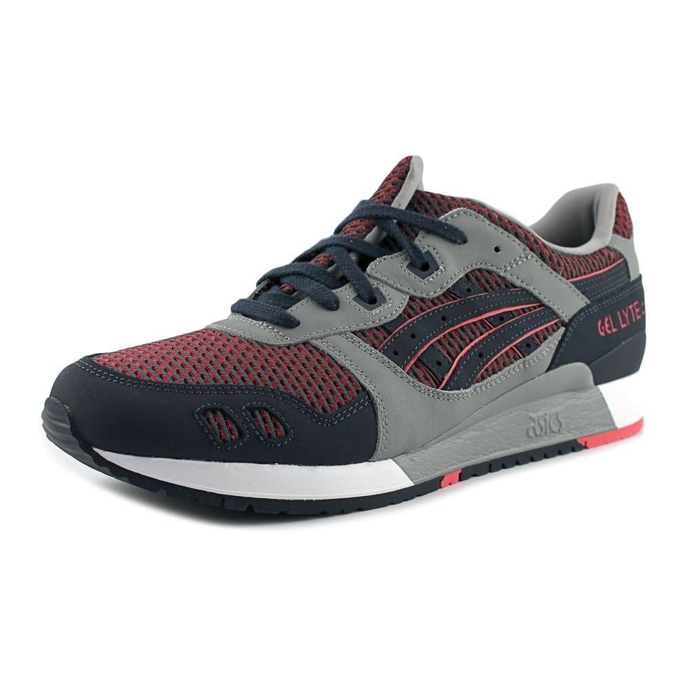 ASICS Mens Gel Lyte III Running Sneaker Shoes, Medium GreyGuava, US 10.5