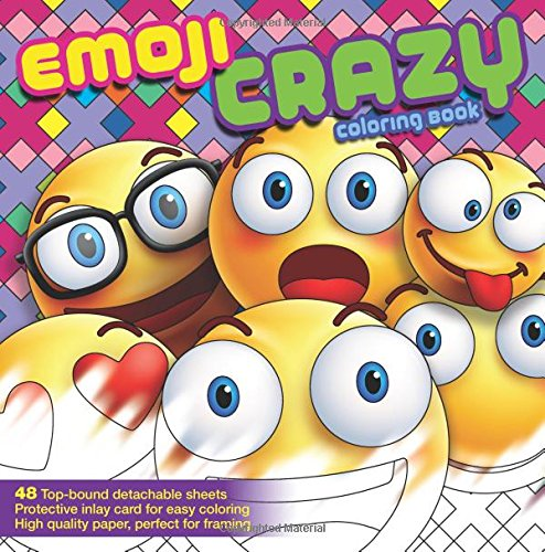 Emoji Crazy Coloring Book (Toddlers Halloween Art Ideas)