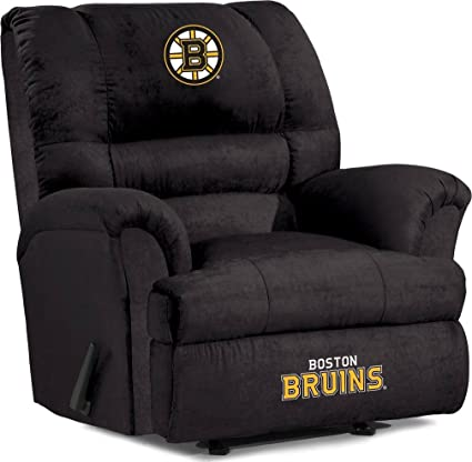 Cool Imperial Officially Licensed Nhl Furniture Big Daddy Microfiber Rocker Recliner Caraccident5 Cool Chair Designs And Ideas Caraccident5Info