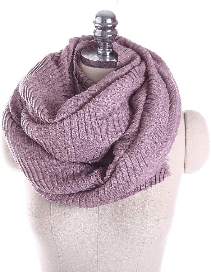 TALLA 175cmmore thaño. AiNaMei Bufanda de moda versátil de cachemira pura de otoño e invierno para mujer