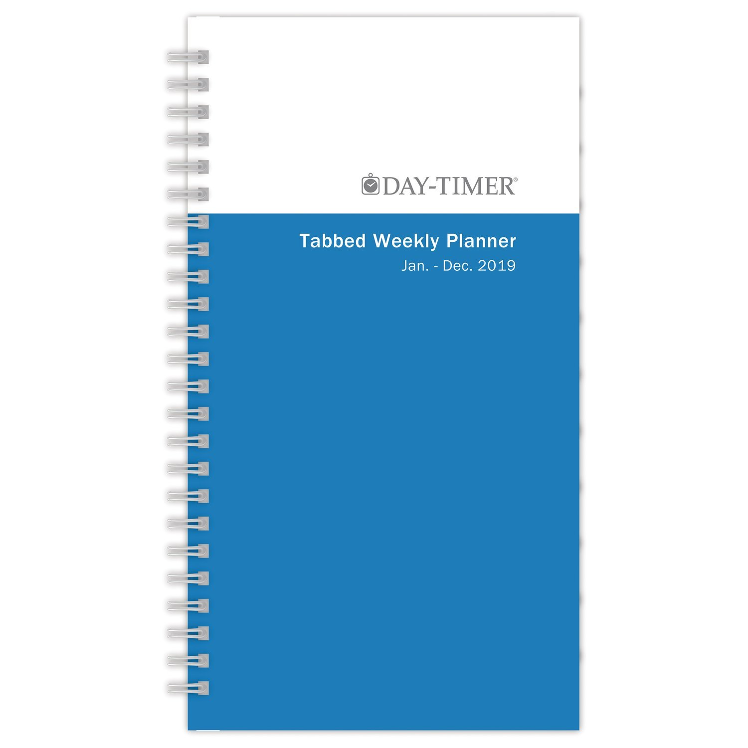 AT-A-GLANCE 2019 Weekly Planner Refill, 3-1/2'' x 6-1/2'', Pocket Size 2, Wirebound, Two Pages Per Week, Simply Stated (12068)